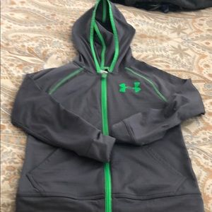 Under Armour zip up sweatshirt